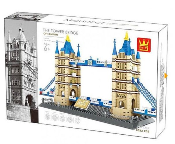 Wange 5215 Architect-Set The Tower Bridge of London 1033 Teile