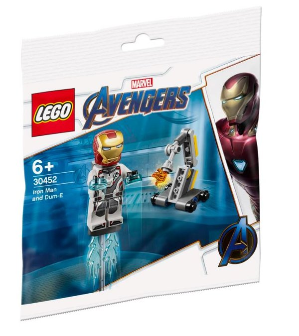 30452 LEGO®Marvel Super Heroes Ironman und Dum-e