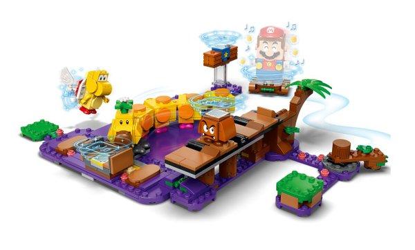 71383 LEGO® Super Mario  Wigglers Giftsumpf # Erweiterungsset