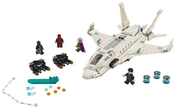 76130 LEGO® Super Heroes Starks Jet und der Drohnenangriff
