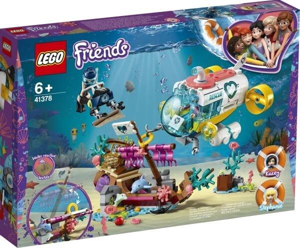 41378 LEGO® Friends Rettungs-U-Boot für Delfine