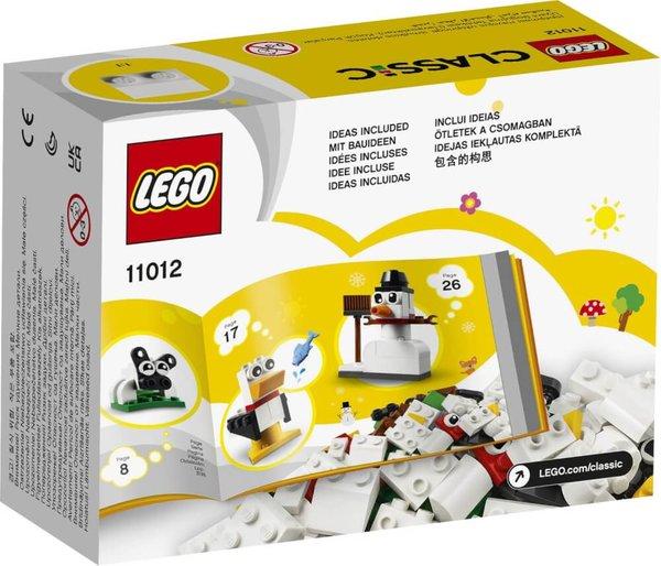 11012 LEGO® Classic Kreativ-Bauset mit weißen Steinen