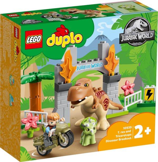10939 LEGO® DUPLO®  Ausbruch des T. rex und Triceratops
