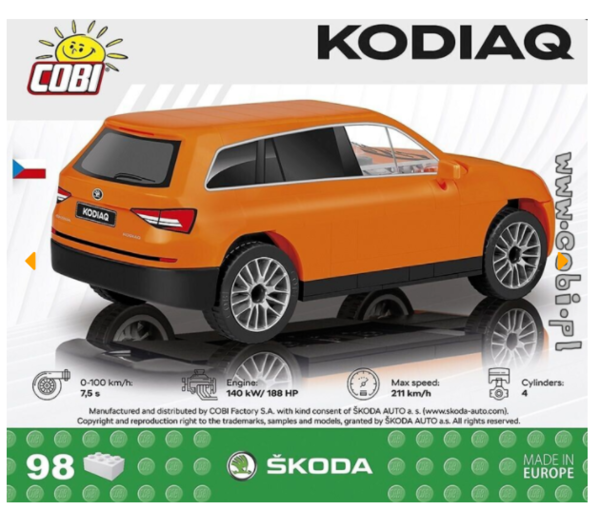 Cobi 24572 Skoda Kodiaq