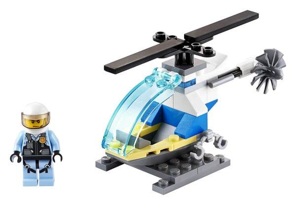 30367 LEGO® City Polizeihubschrauber
