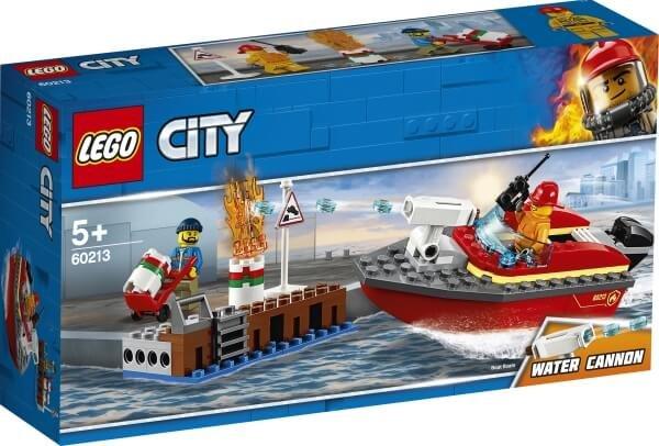 60213 LEGO® City Feuerwehr am Hafen