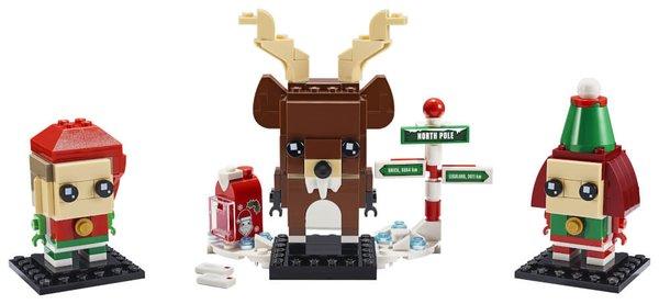 40353 LEGO® BRICK HEADZ Rentier und Elfen