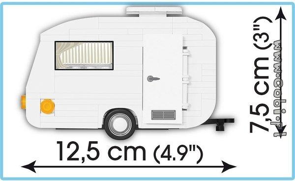 Cobi 24590 Trabant 601 + Caravan Pad printed - no Stickers (Youngtimer Collection)