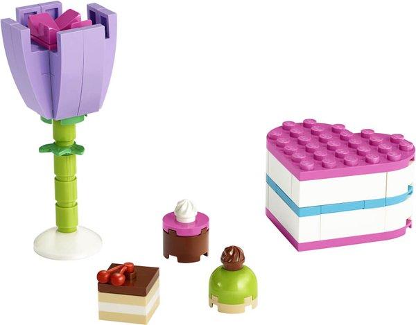 30411 LEGO® Friends Pralinenschachtel & Blume