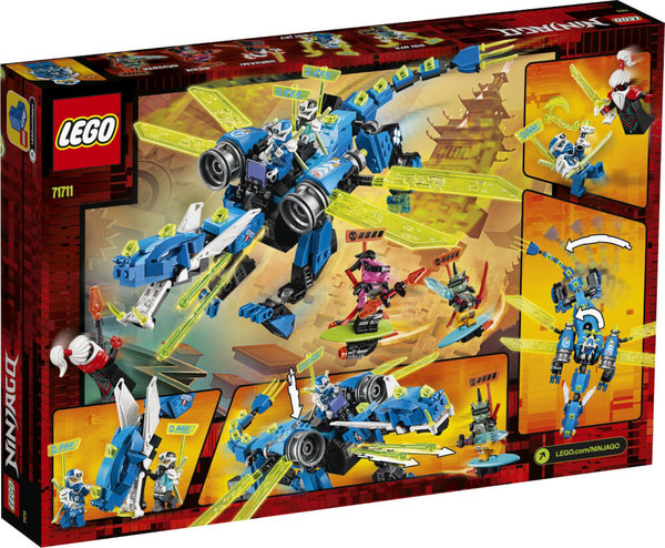 71711 LEGO® NINJAGO Jays Cyber-Drache