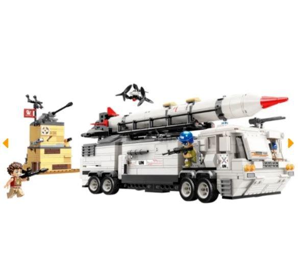Qman 3214 Thunder Mission UN Mobile Kommandozentrale - The Thunder Mission Command Center