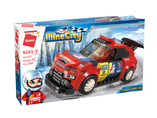Qman 4201-5 Mine City Dragon WRC-88