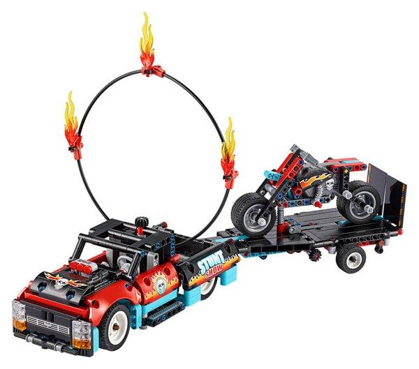 42106 LEGO® Technic Stunt-Show mit Truck und Motorrad