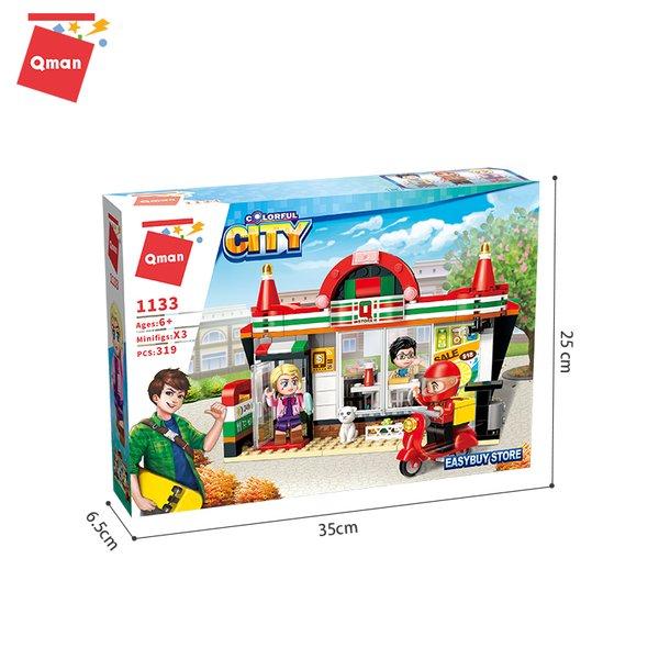 Qman 1133 Colorful City Easybuy Store