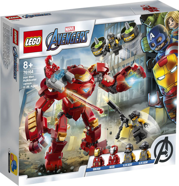76164 LEGO® Marvel Super Heroes Iron Man Hulkbuster vs. A.I.M.-Agent