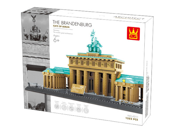 Wange 6211 Architect Brandenburger Tor Berlin 1552 Teile