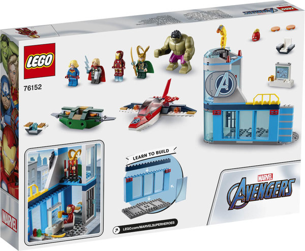 76152 LEGO® Marvel Super Heroes Avengers Lokis Rache
