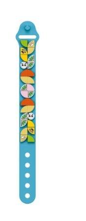 Wange 6506 blaues Armband mit 1x1 Plates mit Panda-Motiven