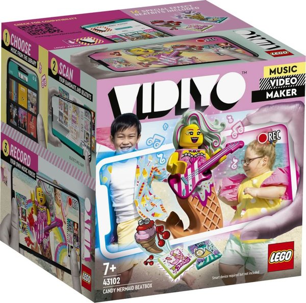 43102 LEGO® VIDIYO Candy Mermaid BeatBox