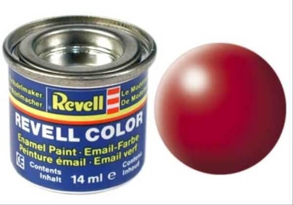 REVELL 32330 feuerrot, seidenmatt RAL 3000 14 ml-Dose