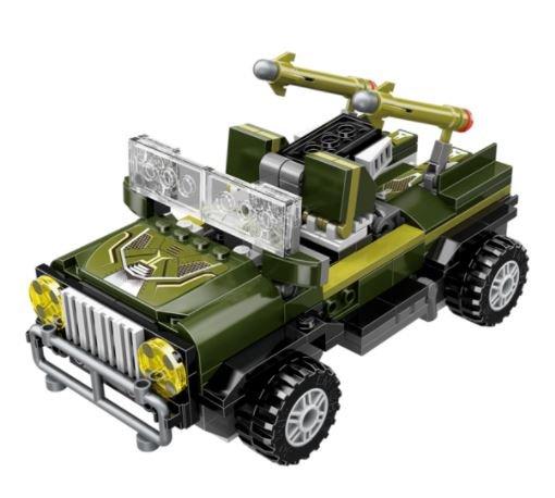 Qman 3307 Transform Blast Ranger Jungle Lurker