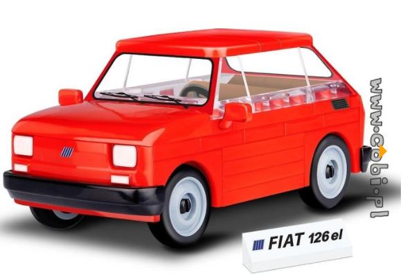 Cobi 24531 Fiat 126 el (Youngtimer Collection)