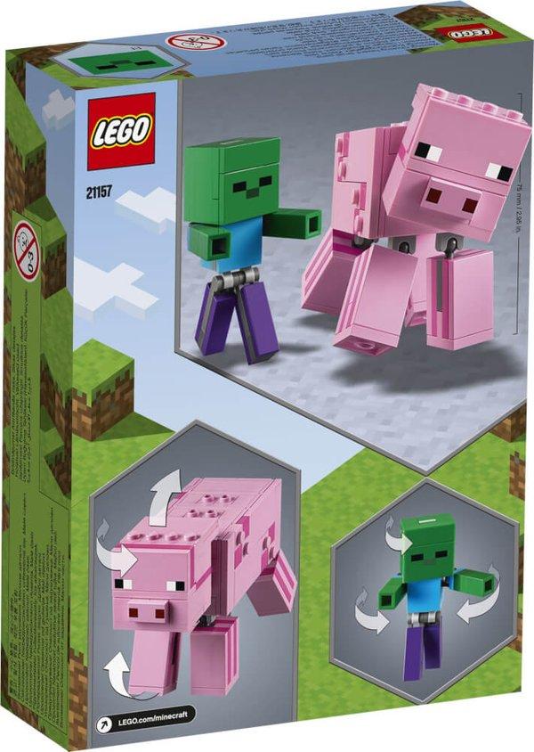 21157 LEGO® Minecraft BigFig Schwein mit Zombiebaby