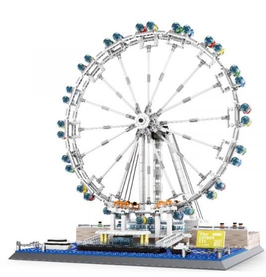 Wange 6215 Architect-Set London Eye - Millenium Wheel Riesenrad 1528 Teile