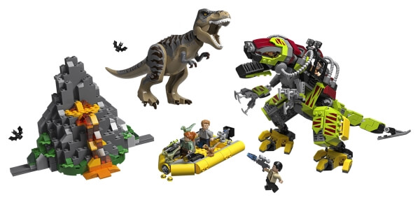 75938 LEGO® Jurassic World T. Rex vs. Dino-Mech