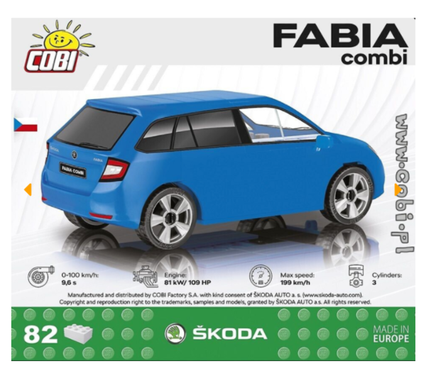 Cobi 24571 Skoda Fabia Combi