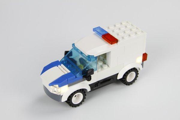 STAX 30801 Police Car Polizei Auto mit Licht & Sound
