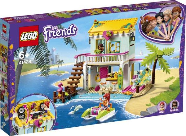 41428 LEGO® Friends Strandhaus mit Tretboot