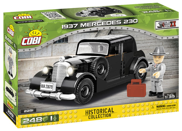 Cobi 2251 Mercedes - Benz 230 (1937) Oskar Schindler