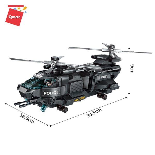 Qman 1928 Battle Force SWAT - SWAT Helikopter