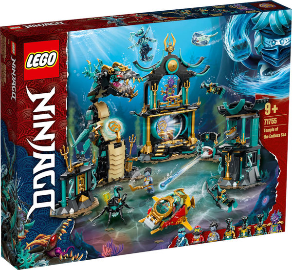 71755  LEGO® NINJAGO Tempel des unendlichen Ozeans