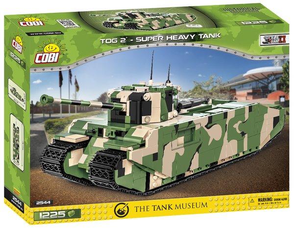 Cobi 2544 COBI 2544 British TOG II SHT Super Heavy Tank - Pad Printed-