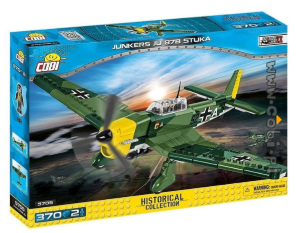 Cobi 5705 Junkers JU 87B STUKA (Historical Collection - WWII - Planes)