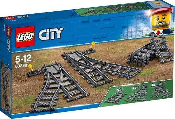 60238 LEGO® City Weichen Spielzeugeisenbahn