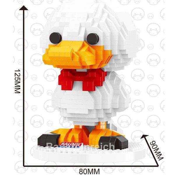 18095 Ente in Weiß (Nanoblocks)