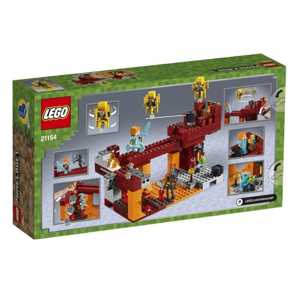 21154 LEGO® Minecraft Die Brücke