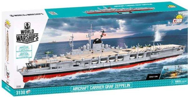 3086 COBI Aircraft Carier Graf Zeppelin