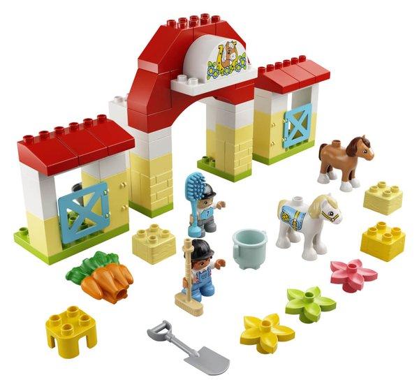 10951 LEGO® DUPLO  Pferdestall und Ponypflege
