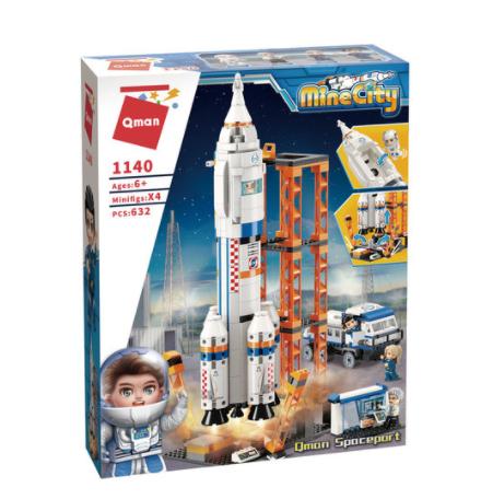 Qman 1140 Weltraumbahnhof Raketenstartbasis Spaceport