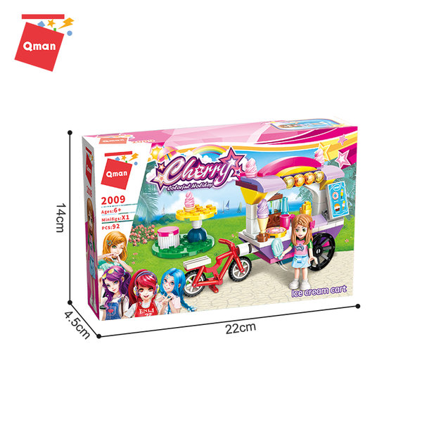 Qman 2009 Cherry Ice-Cream Wagen
