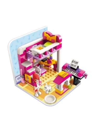 Qman 4101-1 Cherrys Schlafzimmer