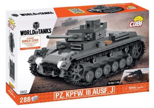 Cobi 3062 Pz.Kpfw.III Ausf. J Panzer 1:48 (World of Tanks)