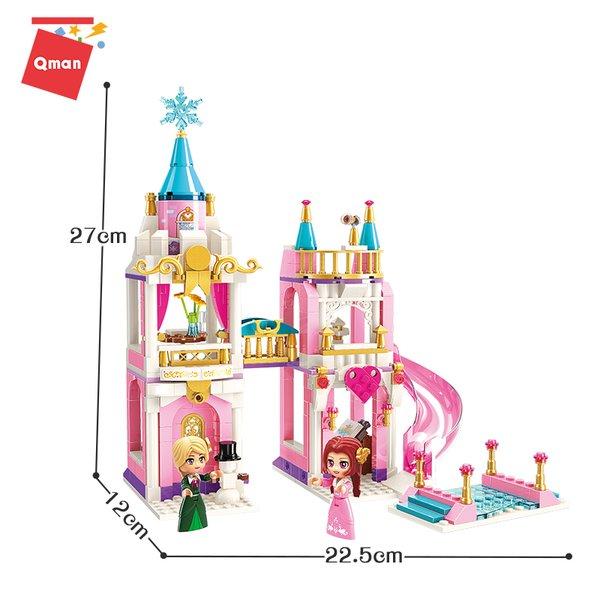 Qman 2615 Princess Leah Schneeflocken Traumhaus