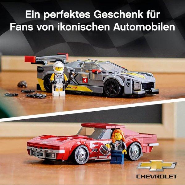 76903 LEGO® Speed Champions  Chevrolet Corvette C8.R & 1968 Chevrolet Corvette