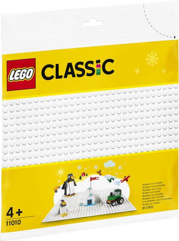 11010 LEGO® Classic Weiße Bauplatte