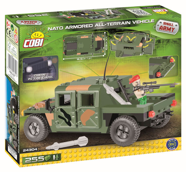 24304 COBI NATO Armored All-Terrain Vehicle